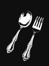 International Wild Rose Sterling Silver Baby Fork and Spoon Set-  GIFT QUALITY