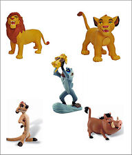 Official Bullyland Disney The Lion King Figures Toys Cake Topper Toppers
