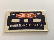 VINTAGE RAZOR BLADE & WRAPPER 'Wardonia' Variant