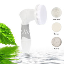 4 in 1 Face Facial Cleansing Brush Spa Skin Care Massage Exfoliator Deep Clean