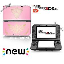 [new 3DS XL] The Legend of Zelda #4 Pink VINYL SKIN STICKER DECAL COVER