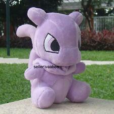 "Pokemon Center Go Mewtwo Mew Plush Toy Pocket Monster Stuffed Animal Doll 6"""