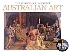 New 8 Art Prints AUSTRALIAN ART THE MUSEUM COLLECTION Posters Prints Folk Art