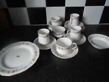 Paragon tea set with cake stand belinda 17 items GC