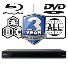 Sony UBP-X800.CEK All Zone Code Free Multi Region 4K Ultra HD Blu-ray Player