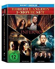 The Da Vinci Code - Sakrileg / Illuminati / Inferno Blu-ray Box NEU OVP