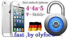 INSTANT  Unlock Germany T-Mobile iphone 4 4S 5 5S SE 6 6 plus 6S 6S plus