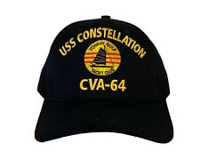 USS Constellation CVA-64 (Tonkin Gulf Yacht Club) Command Ball Cap