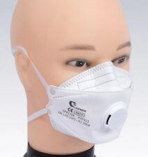 🔥FFP3 mit VENTIL Maske Mundschutz Atemschutzmaske CE Zertifikat Fish weiss  🔥
