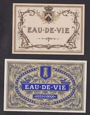 Ancienne étiquette  Alcool France   BN24547 Eau de vie