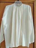 Rare vintage 1970s Gianni Versace silk blouse top dress, size 38