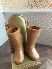Brown Knee High Ken Doll Boots 1/6 Disney Prince Princess
