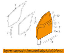 Lincoln FORD OEM 09-15 MKS Front Door-Door Shell Left 8A5Z5420125A