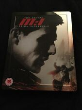 Mission Impossible Blu Ray Steelbook Tom Cruise Action UK Release