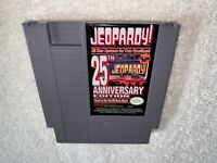 Jeopardy -- 25th Anniversary Edition (Nintendo NES) Authentic Game Nr Mint!