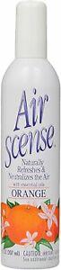Air Freshener by Air Scense, 7 oz Orange