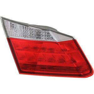 Driver LH Left Tail lamp EX-L/Touring W/ LED fits 2013 2015 Honda Accord Sedan