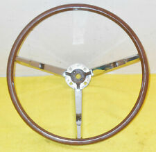 1961 1962 1963 Lincoln Continental Ht Convertible ORIG WOOD GRAIN STEERING WHEEL
