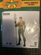 DC Comics Worlds Finest Box Aquaman 3 Vinyl Decals Culturefly