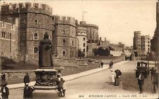 Windsor Castle. Castle Hill # 904 by LL / Levy. Sepia.