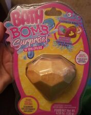 Girls Justice diamond surprise prize bath bomb (strawberry scent) Nwt