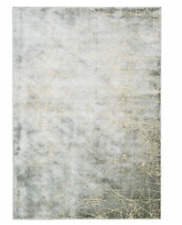 CALVIN KLEIN Home ETCHED LIGHT MERCURY High Sheen Maya CK32 RUG 160 x 225 cm NEW