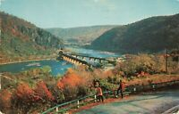 Postcard Harper's Ferry West Virginia