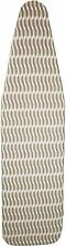 Homz Standard Size Ironing Board Replacement Cover Pad Taupe Brown White Pattern