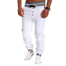 New Mens Casual Gym Sport Tracksuit Bottoms Jogging Trousers Joggers Sweat Pants