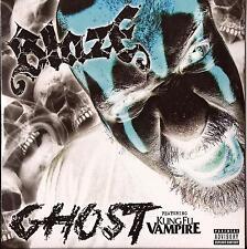 BLAZE *Ghost* CD Single 2015 NEW Majik Ninja Ent. TWIZTID KUNG FU VAMPIRE RARE