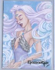Perna Studios Elementals Sketch Card  Wind by Jeena Pepersack