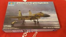 Trumpeter - Chinese J-15 with Flight Deck -1:72, 01670 Military Aircraft Models