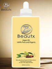 100% Pure and Certified Organic Moroccan ARGAN OIL Argon Skin Hair & Nails 100ml