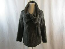 BANANA REPUBLIC Womans Gray and Beige Sweater Made of Italian Yarn - Size S