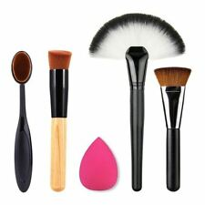 Sponge Travel Size Make-up Brushes Sets