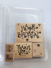 Stampin Up Celebrations Happy Birthday Thank You To From Stamp Set 1994