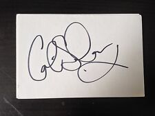 COLIN SALMON - JAMES BOND FILM ACTOR - SIGNED WHITE CARD