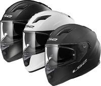 LS2 FF320 Motorbike Motorcycle Full Face Road Crash Lid Helmet
