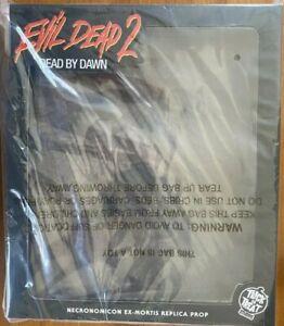 Evil Dead 2 Book of the Dead Necronomicon Prop Replica Trick or Treat Studios