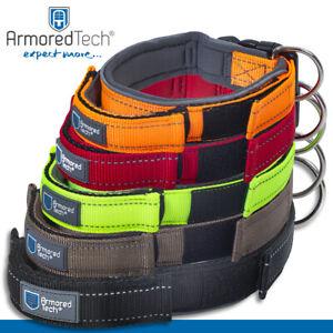 ArmoredTech Hundehalsbänder XS - XL | orange, rot, neon grün, mocca, schwarz
