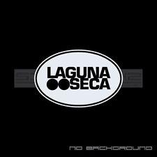 Laguna Seca Decal Circle Sticker Porsche Mercedes Audi BMW German Pair