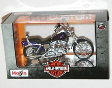 Maisto Harley Davidson 2001 FXDWG Dyna Wide Glide Modèle échelle 1:18