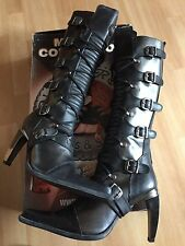 NEW ROCK Itali Negro Lux Gr. 42 / US 8 NEU und UNGETRAGEN!