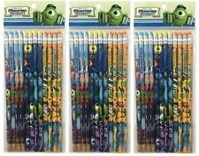 Disney Monster University Pencils School stationary Supplies 36pc