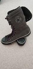 CONVERSE Schuhe Chucks Sneaker Boots. All Star Grau Wildleder gr39,5