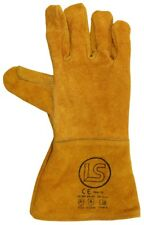 Langley Branded Gold Woodburner - Welders Gauntlet - BBQ Glove