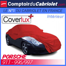 Housse / Bâche protection COVERLUX Porsche 911 996/997 en Jersey couleur Rouge