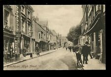 Hants Hampshire WINCHESTER High St Christian Knowledge early PPC by Frith