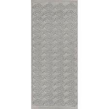 16 Sticker Ziersticker Schriftsticker EINLADUNG SILBER Kartenschmuck Basteln Nr