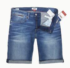 TOMMY JEANS Herren Men Shorts ROONIE RELAXED kurze Jeans Hose mit Stretch NEU